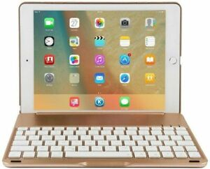 For iPad 5/6/7/8th Gen Pro 9.7 10.5 Air 1/2/3 Bluetooth Keyboard with Stand Case