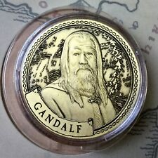 Gandalf Lord Of The Rings Limited Edition 38mm Collectors Coin In Capsule
