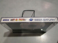 Bust-A-Move 3 Sega Saturn w/ Original Case, No Instructions Fast Free Shipping!