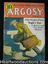 Argosy Oct 19 1935 H. Bedford Jones - High Grade