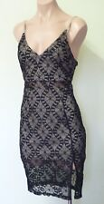 "Sexy ""Blossom"" Black Lace dress - Ladies size 8. Brand New with Tags"