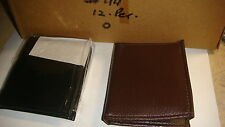 TRADE JOB LOT OF 12 X MENS  WALLETS IN BROWN  and BLACK///