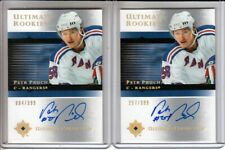 2005-06 Ultimate Collection #125 Petr Prucha 2 x RC LOT Auto /399