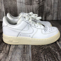 Nike Air Force 1 GS White 314192-117 Youth Size 4.5Y Boys Shoes Sneakers 2013