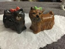 Goebel West Germany Yorkshire Terriers Set 2 Collectible Figurines 509 & 510