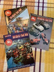 Brumm Car Model Brochures (Italian)