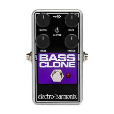 Electro-Harmonix EHX Bass Clone Analog Bass Chorus Guitar Effects Stompbox Pedal