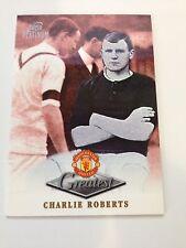 Manchester United Futera Platinum 1999 Greatest Card (CR)