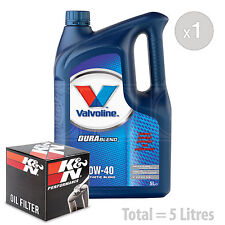 Engine Oil and Filter Service Kit 5 LITRES Valvoline SynPower 10w-40 5L