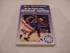 COOL Michael Jordan Book, On The Court With Michael Jordan, Washington Wizards!!