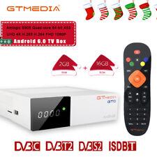 GTmedia decoder Digitale HD Combo Terrestre Satellitare DVB-T2/S2+Android TV Box