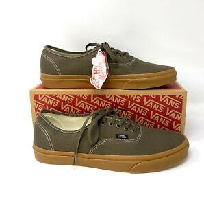 VANS  Autentic Gum Canteen Brown  Canvas  Men's Sneakers VN0A348A2NW