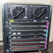 Cisco Catalyst WS-C4507R-E w/ 5x WS-X4248-RJ45V 2x WS-X4515 SupIV PWR-C45-1300AC