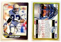 Rufus Porter Signed 1991 Score #561 Card Seattle Seahawks Auto Autograph