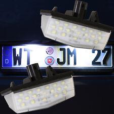 LED SMD sehr helle weiße Kennzeichen Beleuchtung Nummernschild Leuchte [7707]