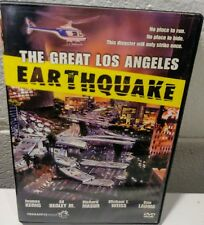 The Great Los Angeles Earthquake (DVD, 2006, Full Length Mini-Series..plays well