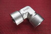 "Swagelok® 1/4"" x 1/4"" NPT Female Pipe Threaded ELBOW 90° ELL 316 Stainless Steel"