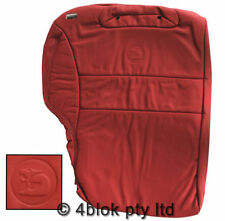 Red Leather Seat Covers
