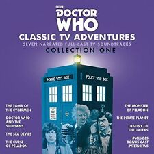 Doctor Who: Classic TV Adventures Collection One:15 CD AUDIO BOOK NEW SEALED