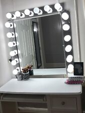 Large 50 Inch Wall Vanity Mirror With LED Lights