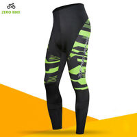 Mens Cycling Pants Casual Bicycle Bike Tights Riding Sports Long Trousers Tights