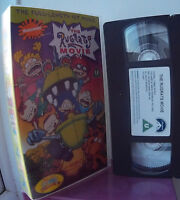 The Rugrats Movie (1998) VHS Video