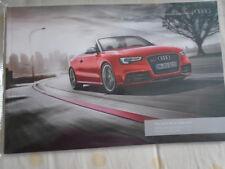 Audi RS5 Cabriolet range brochure Jan 2014