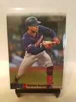 Byron Buxton 2020 Topps Stadium Club #43 BLACK PARALLEL Minnesota Twins
