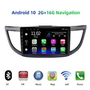 10.1'' Android 10 Car Stereo Radio GPS Navi Wifi   touch for Honda CRV2012-2015