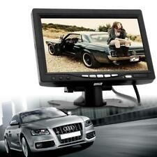 2-Channel 7 Inch TFT LCD Color Car Rear View Headrest Monitor DVD VCR Monitor MT