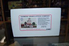 "HO AMB 115 * ""Farmer's Grain and Stock Company"" * Wood Laser Cut Kit NIB"