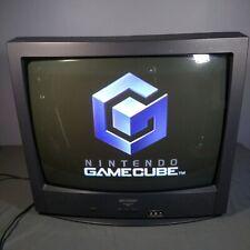 "25"" Sharp 25R-S100 Retro Gaming Tube TV Color CRT Television"