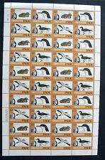 PALAU AUDUBON BIRDS 1985 - FULL SHEET  ( 40 stamps)