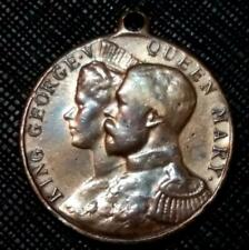 1911 GREAT BRITAIN KING GEORGE V & QUEEN MARY CORONATION - NICE MEDAL