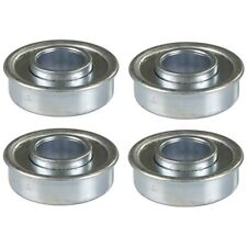 "4 Flange Precision Wheel Ball Bearings 5/8"" X 1 3/8"" fits Lesco 050312 Tractors"