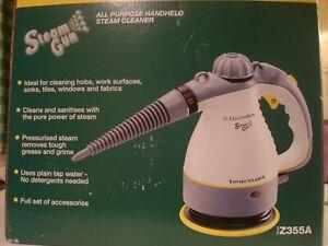 Electrolux Z355A Enviro Steamer Handheld Steam Cleaner Cleaning Gun & Tools