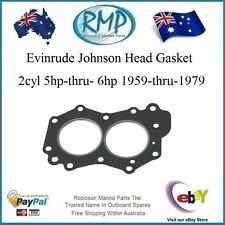 New Evinrude Johnson Outboard Head Gasket 5hp-thru-6hp 1959-1979  # 329103