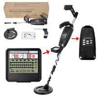 HY-3500 Pro Metal Detector Underground Gold Digger Treasure Hunter