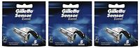 Gillette Sensor Excel Razor Blades - 15 Cartridges