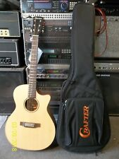 Crafter ES TCE electro-acoustic, fantastic new DS2 pickup system. Gigbag NEW!