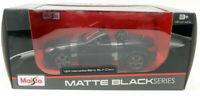Maisto 1/24 Scale Diecast - 31206 Mercedes SLK Class Matt Black