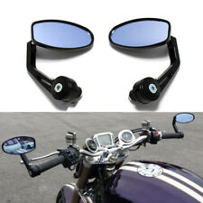 "Motorcycle 7/8""Handlebar Bar End Mirrors For Triumph Street Speed Triple Useful+"