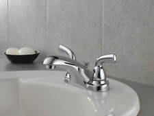 Delta B2510LF Foundations Two Handle Centerset Lavatory Faucet in Chrome