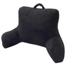Bed Rest Pillow Back Support Stable Plush Arm Rest Reading Cushion TV Chair