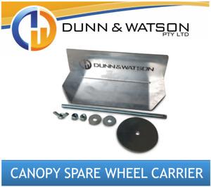 Aluminium Canopy Spare Wheel Carrier / Holder (4wd, 4x4, Ute, Tray)