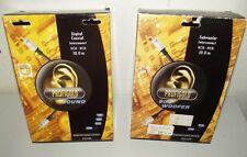 2x PROFIGOLD Digital Coaxial Cable de conexión RCA SUBWOOFER 10m Cable RCA 1-p