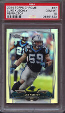 2014 Topps Chrome 87 Luke Kuechly Refractor PSA 10 Gem Mint