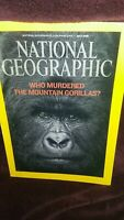 National Geographic Magazine, July 2008- Who Murdered the Mountain Gorillas? EUC