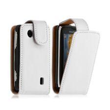 Housse coque etui pour Sony Ericsson Txt Pro CK15i couleur blanc
