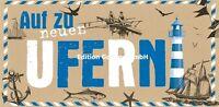 """XXL-Postkarte+Umschlag""""Auf zu neuen Ufern""""Abschied Kollege*12,5x23,5*Grußkarte"""